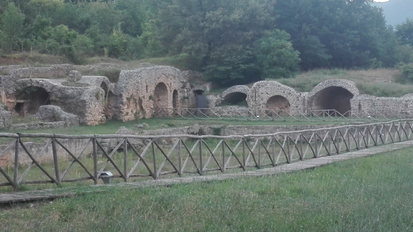 An Archaeological site all to yourself: The Thermal Baths of Emperor Vespasian